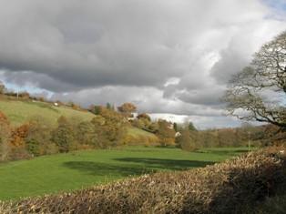 River Dart Rural Scene