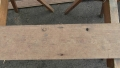 board with drain plug