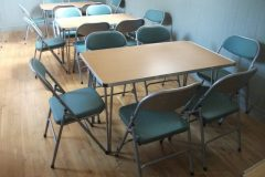 Chairs-round-tables