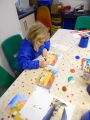 enhancing fabric printing with special paints and crayons