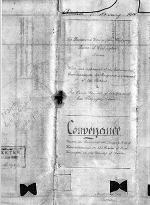 Conveyance document