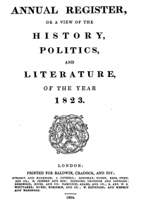 1823-Annual-Register-Frontspiece