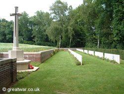 Devonshire Cemetery, Mametz